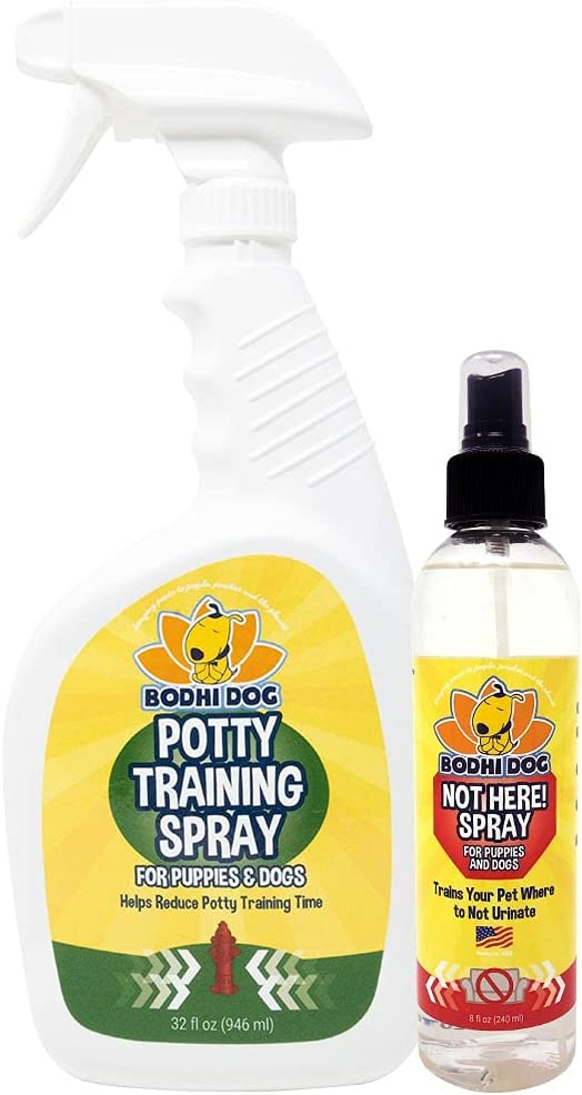 Bodhi Dog Potty Training Spray Opening large release sale 32oz Bundle + Not Here 8oz Max 88% OFF