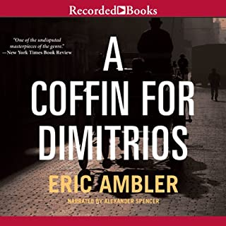 A Coffin for Dimitrios audiobook cover art