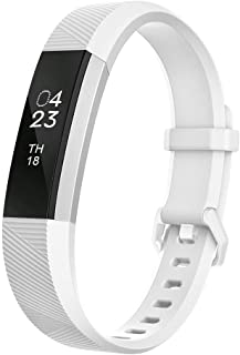 Fitbit Alta Bands, UMTELE Soft Replacement Wristband with Metal Buckle Clasp for Fitbit Alta/Alta HR Smart Fitness Tracker