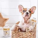 Gelenk-Ergänzungsfutter für Hunde – MaxxiFlex Plus – Hunde Gelenke – Fortschrittliche Formel – Glucosamin HCL, Chondroitin-Sulfat, MSM, Hyaluronsäure, Teufelskralle, Bromelain, Gelbwurz – Linderung Von Arthritisschmerzen – Beste Hüftunterstützung Für Hunde – Hunde-Hüftdysplasie – Alle Rassen Und Größen – 120 Hochwertige Kaubare Tabletten – Geschmacksgarantie - 6
