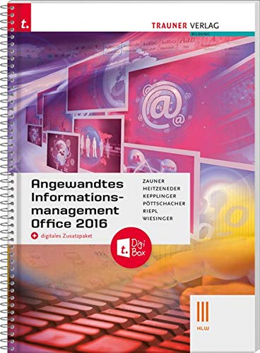 Angewandtes Informationsmanagement III HLW Office 2016 + digitales Zusatzpaket