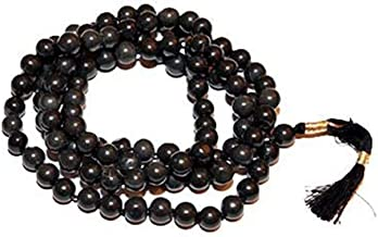 Black Agate - Hakik Mala for Shani Dosh