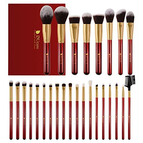 Pinceau De Maquillage Ensemble 27 Pcs Maquilleur Professionnel Outils De Maquillage De Base Avancée Mélange Blush Pinceau Ombre À Paupières