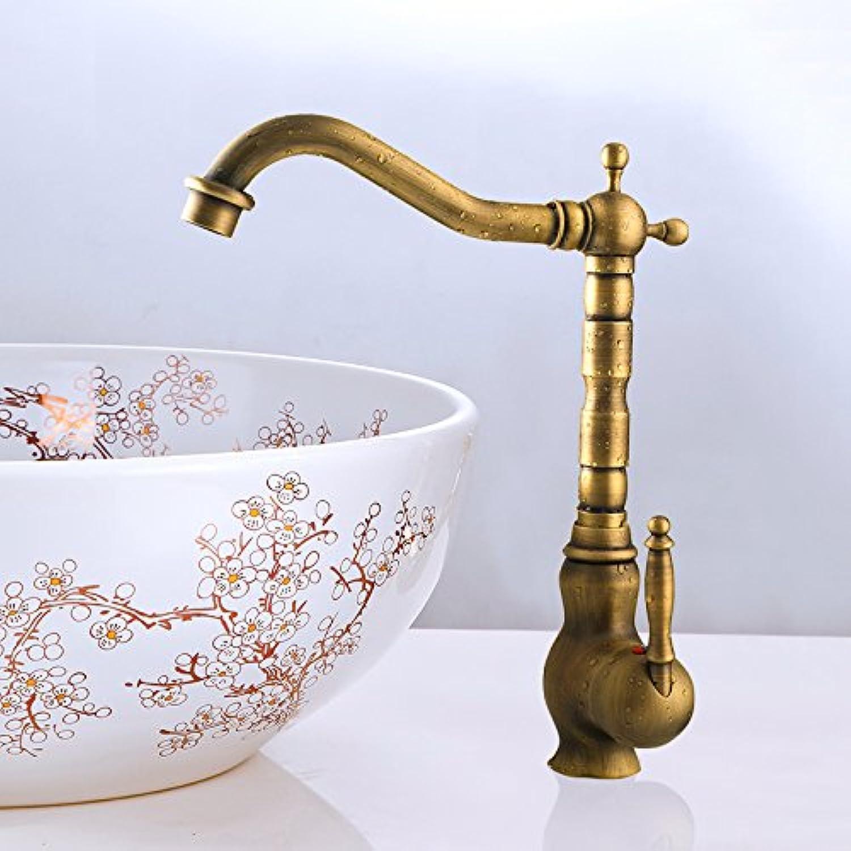 JIAHENGY Sink Mixer Mixer Mixer Faucet tap European style retro art Centerset Handle Antique Brass Basin Toilet Kitchen bathroom b68346