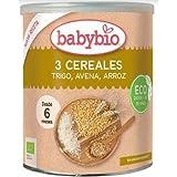 Papilla 3 Cereales babybio, 220 g