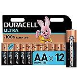 <span class='highlight'><span class='highlight'>Duracell</span></span> Ultra AA Alkaline Batteries [Pack of 12], 1,5 Volts LR06 MX1500