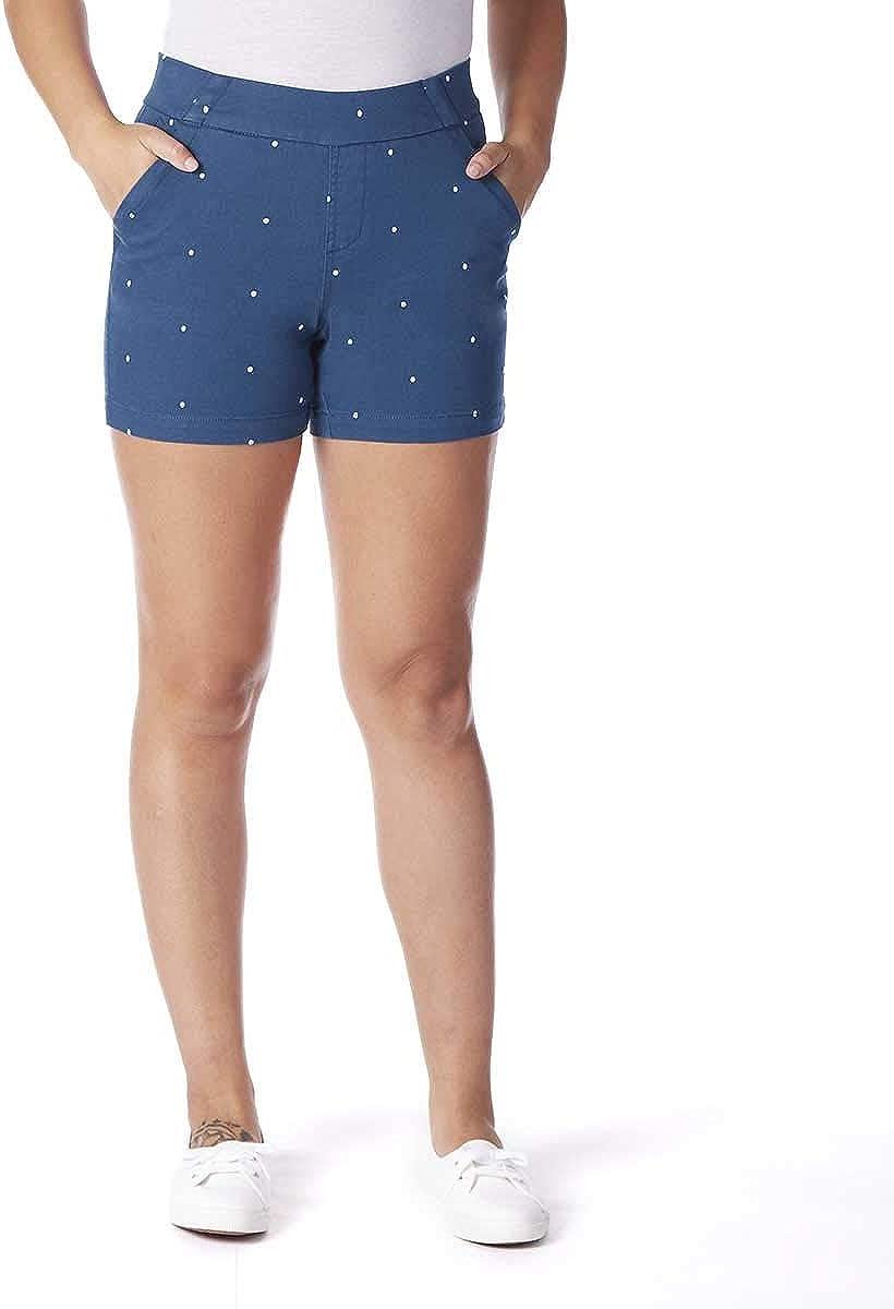 Jag Jeans San Diego NEW Mall Women's Gracie Polka Dot Short 5