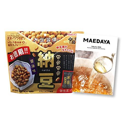 [前田家] 上質 国産 大豆 ドライ 納豆 (18袋) お徳用 栄養素を活かす低温フライ製法 健康おやつ おつまみ スーパーフード 乾燥納豆 国産納豆 国内加工