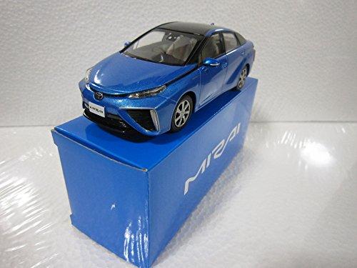 トヨタ 1/30 オフィシャルミニカー MIRAI ミライ カラーサンプル ツートンピュアブルーメタリック 2NV