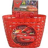 Disney Jungen Car Fahrradkorb Universal Kinder, rot