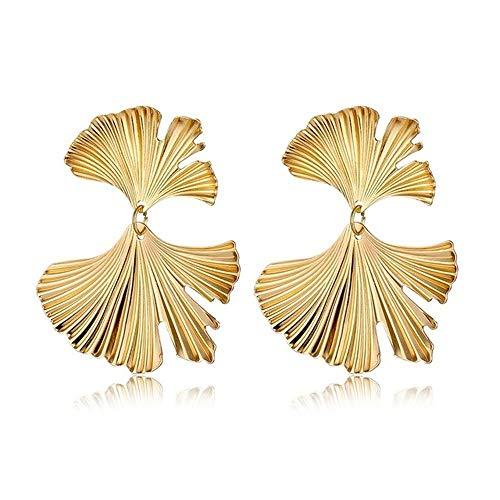 ZYJ Vintage Goud Zilver Metalen Legering Oorbellen Mode Geometrische Boho Drop Oorbellen Sieraden Gift