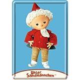 Nostalgic-Art 16589 Sandmännchen Puppe Blechpostkarte, 10
