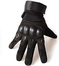YYGIFT Mens Wear-Resistant Gloves Half Finger and Anti-Slip Full Finger Gloves Breathable Durable Gloves for Outdoor Sport...