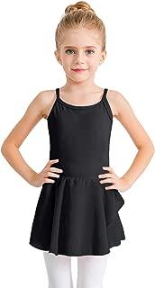 STELLE Girl's Cotton Camisole Dress Leotard for Dance, Gymnastics and Ballet(Toddler/Little Girl/Big Girl)