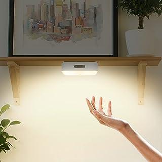 ESHUNQI Lampe de Table 26LED, Rechargeable Lampe de Lecture pour Lire, étudier, Travailler, Chevet, 2.4W Lampe Nuit Magnet...
