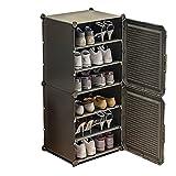 Actualice el gabinete de zapatos 3D, estante de zapatos apilable de 6 niveles, for la entrada de la zapatilla del equipo de zapatos for el almacenamiento de zapatos vertical zapato zapato zapato cubíc