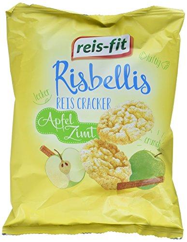 Reis-fit Risbellis Reis Cracker Apfel & Zimt , (40 g)
