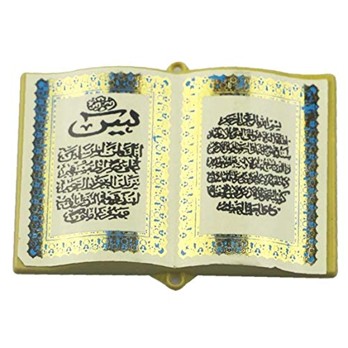 TOSSPER Refrigerador Magnético Etiqueta Biblia Libro Islam Ramadán Eid Mubarak Decoración para La Pizarra Nevera Pared Armario