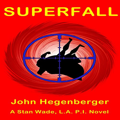 Superfall audiobook cover art