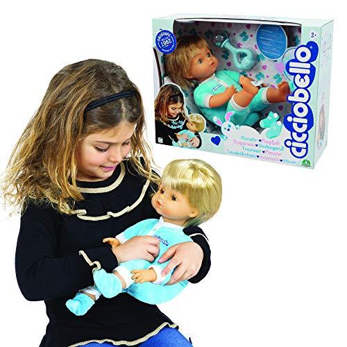 Cicciobello - Monello Bambola che sgambetta come un bimbo vero, ride e fa i versetti, 30 cm, per bambine a partire dai 3 anni di età, CCB62000, Giochi Preziosi