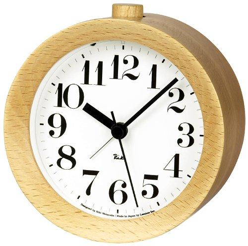 Lemnos WR09-15 Riki Alarm Clock, Natur