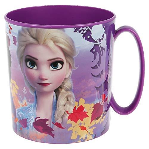 D&F Disney Frozen 2 – Taza Plástico Micro 350ml no BPA