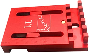 JSREO Wooden Tenon Ruler Marking,Woodworking Gaps Gauge Depth Measuring Ruler Line Sawtooth Ruler Marking Tool