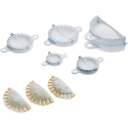 LOUIS TELLIER - Lot de 5 Moules à Chausson de dimensions différentes - Simple d'Utilisation - Qualité Supérieure - Marque Française