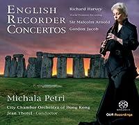 English Recorder Concertos/イギリスのリコーダー協奏曲集[SACD-Hybrid]
