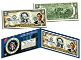 Barack Obama Presidential Series #44 Two-Dollar Bill Collectible Art Bill with Certificate