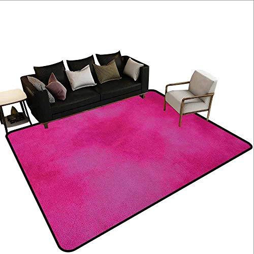 MsShe Tapijt liner voor tapijt Hot Pink,Abstract Beeld Levendig Burst Rays Sunbeams Geïnspireerd Futuristische Afbeelding, Rood Hot Roze en Wit