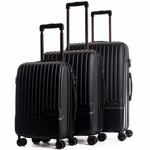 CALPAK Davis Expandable Luggage Set, Light Blue