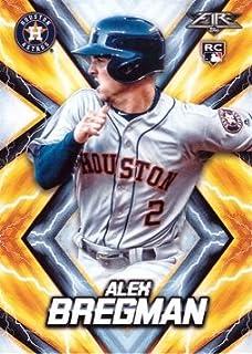 2017 Topps Fire Baseball #126 Alex Bregman Rookie Card