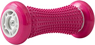 AINAAN Foot Massage Roller for Relief Plantar Fasciitis and Reflexology Massage for Deep Tissue Acupresssure Recovery for Relax Foot Back Leg Hand Tight Muscle(Pink)