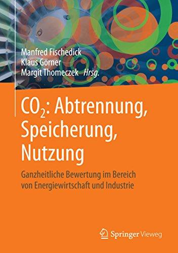 CO2: Abtrennung, Speicherung, Nutzung: Ganzheitliche Bewertung im Bereich von Energiewirtschaft und Industrie