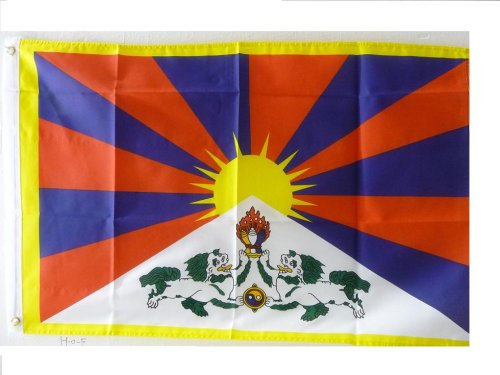 Flagge Tibet, Free Tibet, 60 x 90 cm