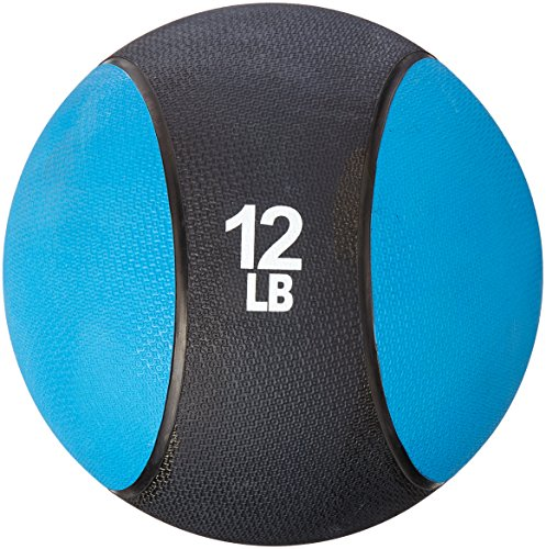 FA Sports - Balón Medicinal Azul Blau, Schwarz Talla:4.5 kilograms