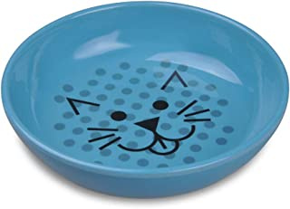 Van Ness ECOWARE Cat Dish, 8 Ounce, Assorted Colors, Pacific