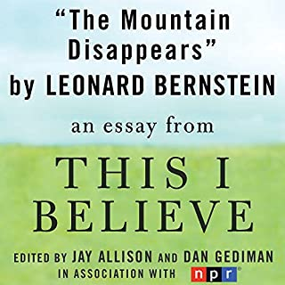 The Mountain Disappears audiobook cover art