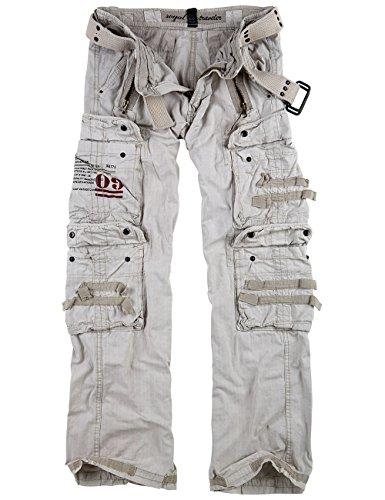 Surplus Royal Traveler Trousers, royalwhite, 3XL