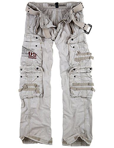Surplus Royal Traveler Trousers, royalwhite, 3XL