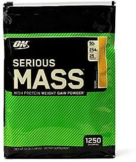 Optimum Nutrition 欧普特蒙 Serious Mass 增重蛋白粉,香蕉味,12磅(5.44公斤)