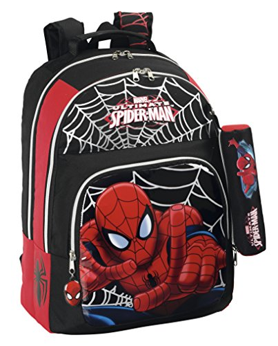 Marvel Spider-Man - Mochila Doble Adaptable a Carro (SAFTA 611412560)