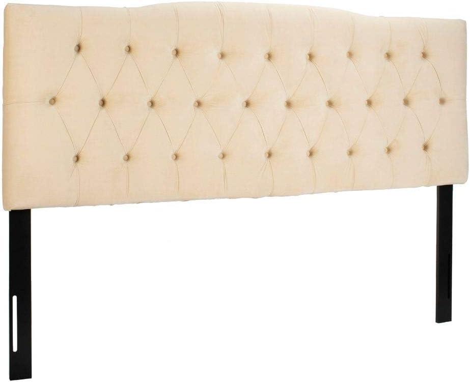 Safavieh Home Axel Modern Buckwheat Tufted Headboard, King