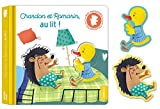 Mes premiers livres silhouettes - Romarin et Chardon, au lit !