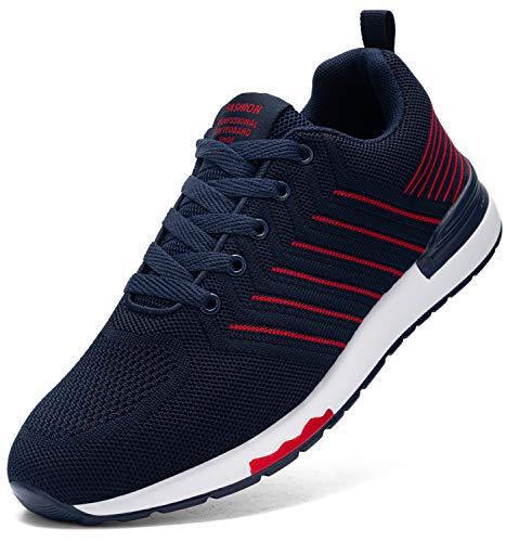 Kefuwu Zapatillas de Deportes Hombre Mujer Zapatos Deportivos Running Zapatillas para Correr...