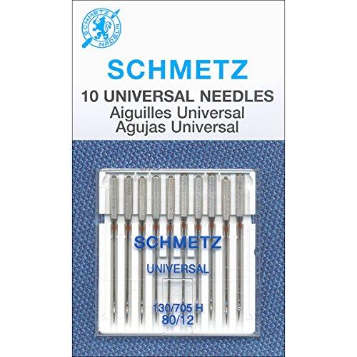 Schmetz Universal Needle Size 80/12 10pc