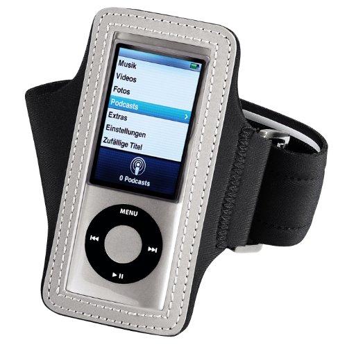 Hama Marathon - Brazalete de Neopreno para Apple iPod Nano 5G, Color Negro