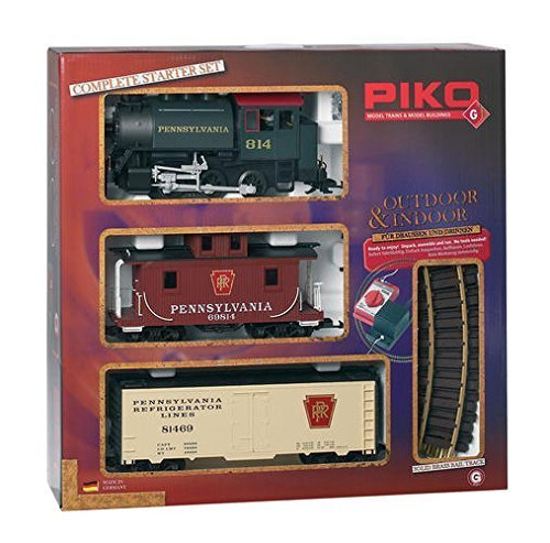 top 10 g scale trains Pennsylvania Starter Kit – PIKO G Scale 38103 Add-on Kit