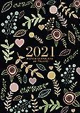 Agenda giornaliera a4 2021 italiano: Calendario 2021 | Tutto l'anno, una pagina per ogni giorno | a partire dal 1 gennaio - dicembre 2021
